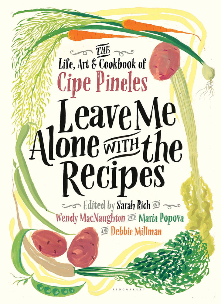 Book cover for Leave Me Alone With the Recipes