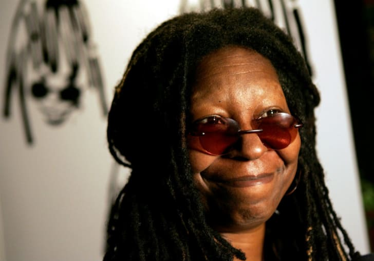 Actress and Flooz.com spokesperson Whoopi Goldberg is photographed during a public appearance