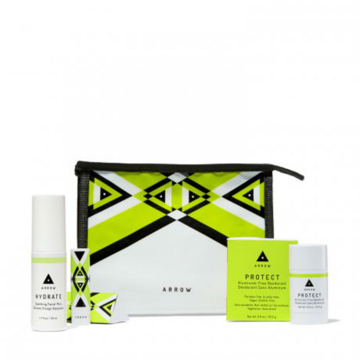 A Freshen Up hygiene kit from Birchbox is pictured