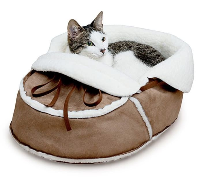 Moccasin Pet Bed by Uncommon Goods