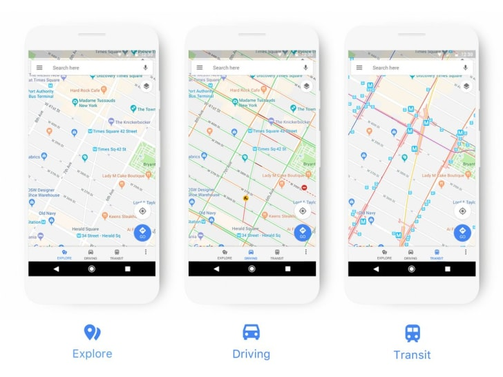 Google Maps Is Getting a Makeover With More Icons and Colors