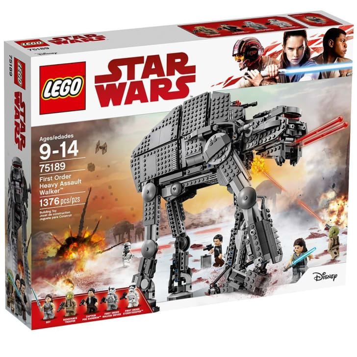 A LEGO Star Wars Assault Walker set