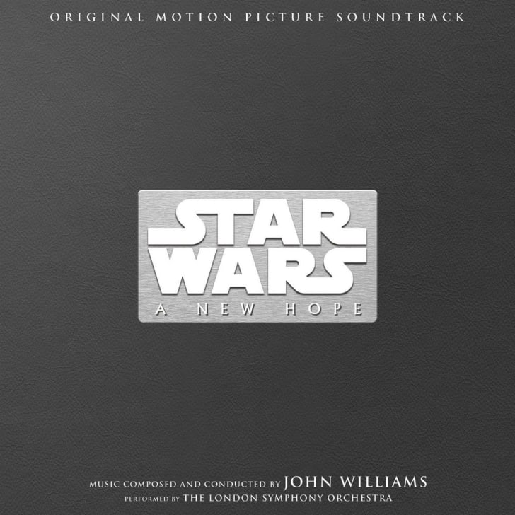 A Star Wars soundtrack album sleeve