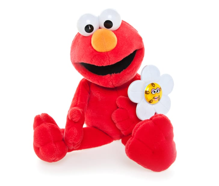Photo of Elmo from 'Sesame Street'