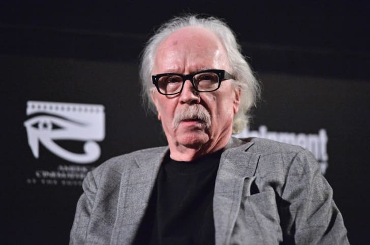 A photo of director John Carpenter.