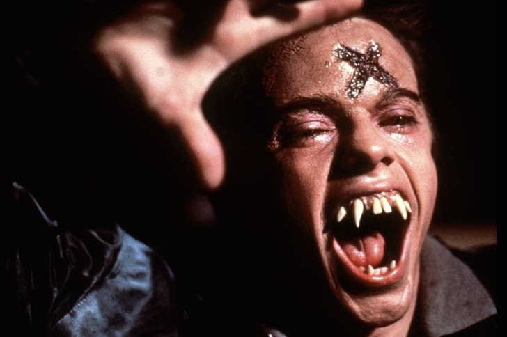 Stephen Geoffreys stars in 'Fright Night' (1985).