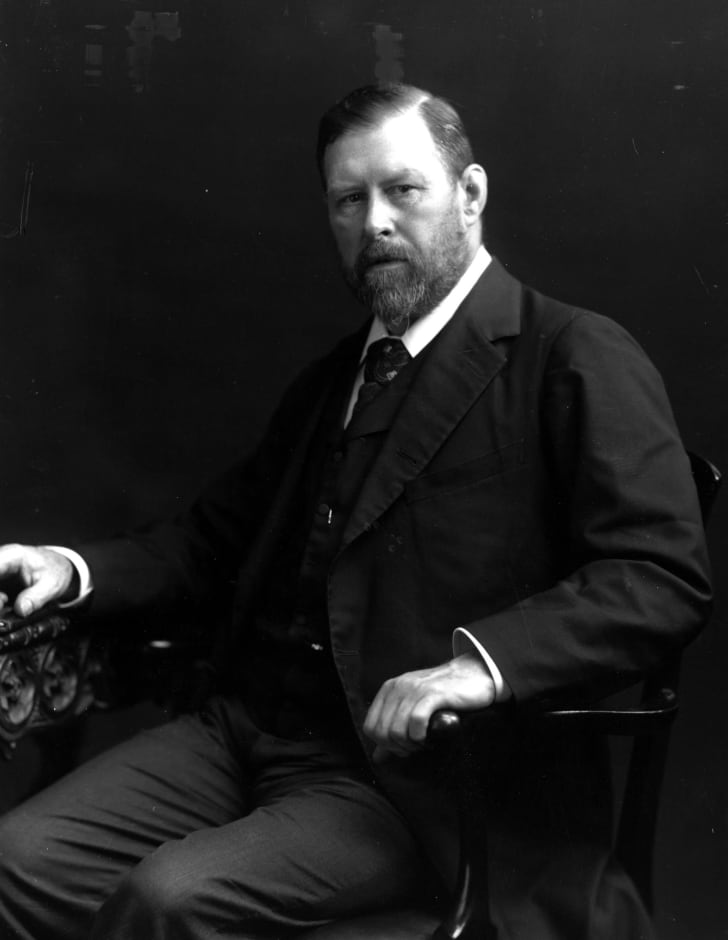 A photo of Bram Stoker