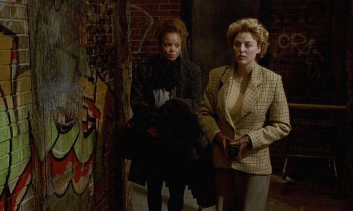 Kasi Lemmons and Virginia Madsen in 'Candyman'