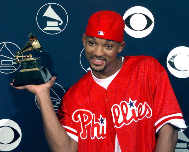 Will Smith appears at the Grammy Awards