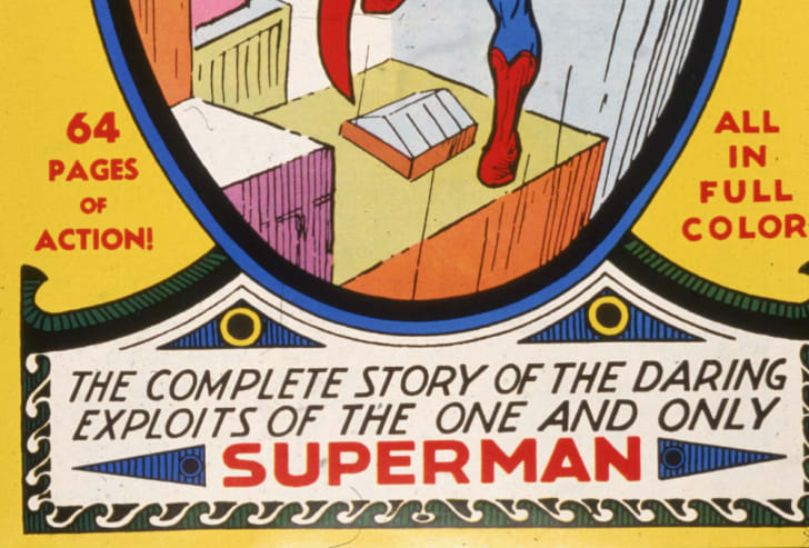 The cover to the first issue of Superman