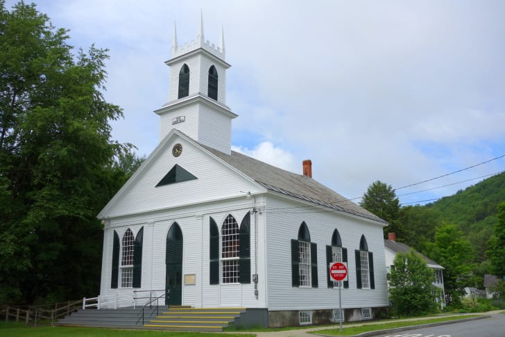 Union Hall in Newfane, Vermont