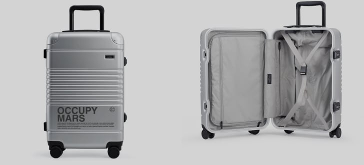 Space Collection suitcase from Arlo Skye