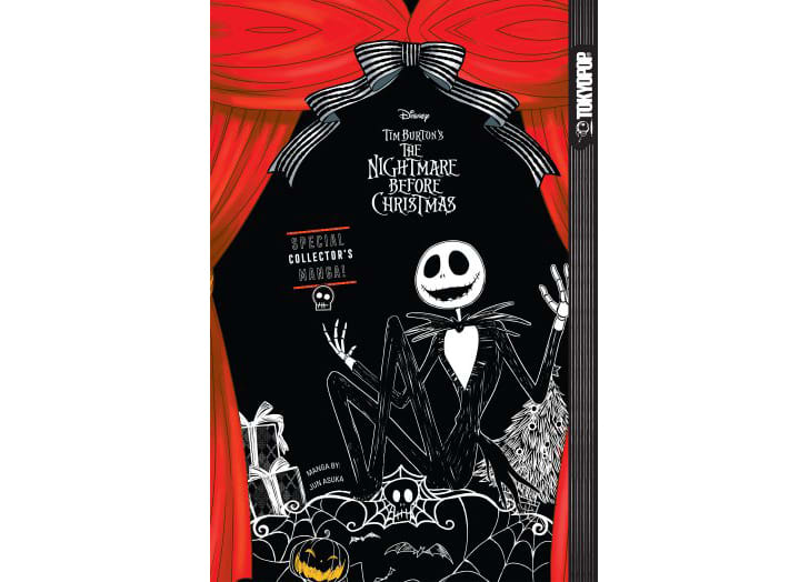 Tim Burton's 1993 film 'The Nightmare Before Christmas' will receive a comic book sequel courtesy of Japanese manga publisher Tokyopop.