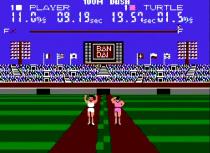 stadium games video game screenshot