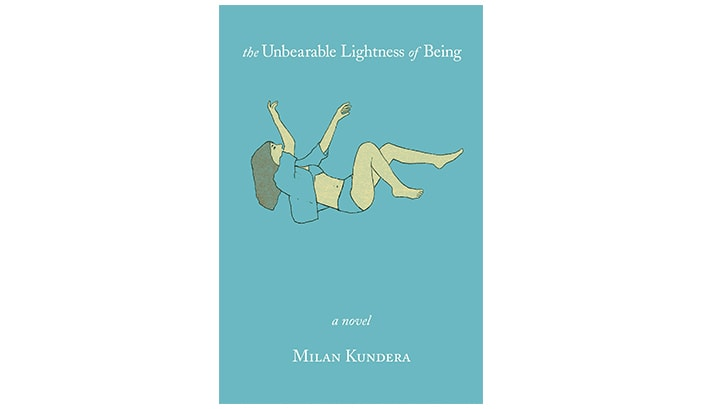 The cover of 'The Unbearable Lightness of Being'