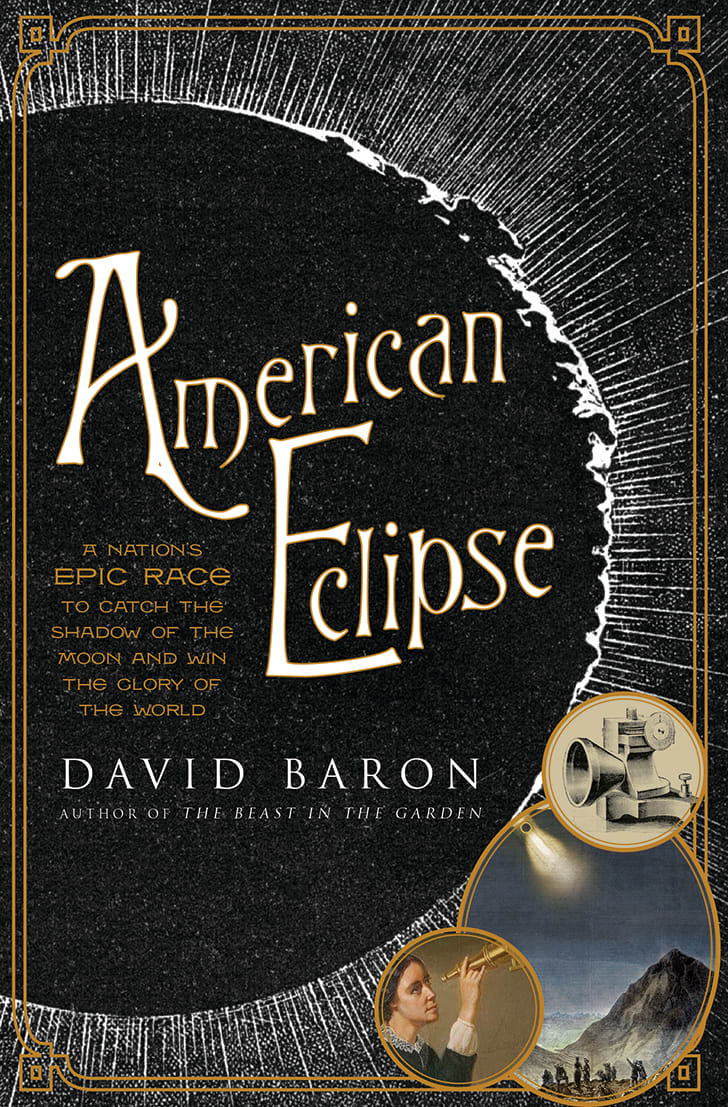 The cover of David Baron's 'American Eclipse.'