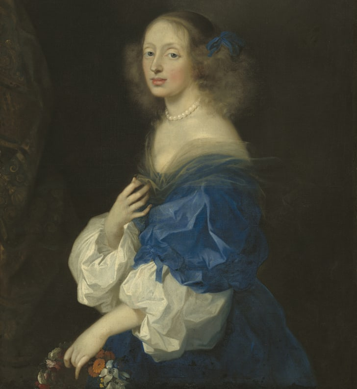 Ebba Sparre as painted by Sébastien Bourdon