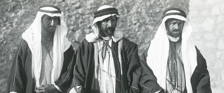 the small band of warriors led by Lawrence and the fierce Howeitat chieftain Auda Abu Tayi, an ally of Faisal