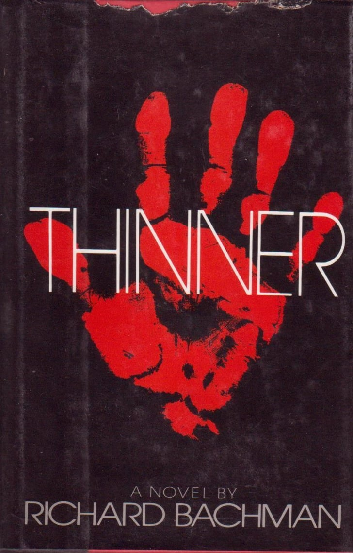 The book jacket from 1985's horror novel 'Thinner'