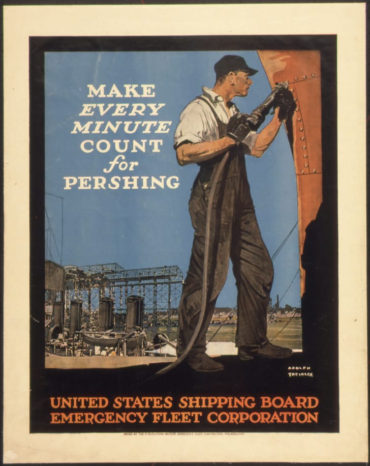 Make Every Minute Count For Pershing United States Shipping Board Emergency Fleet Corporation
