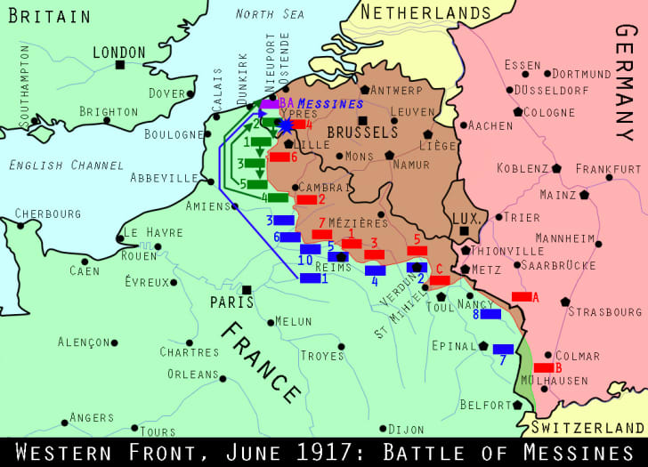 Western Front June