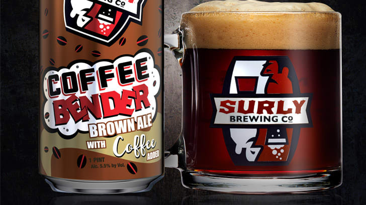 Coffee Bender Surly Brewing Co