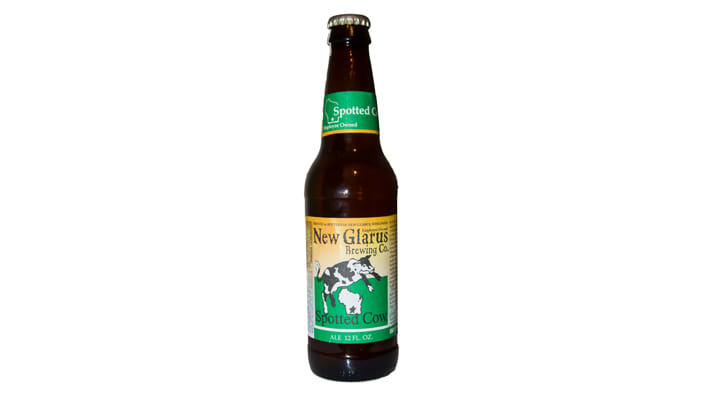 Spotted Cow New Glarus Brewing Company beer