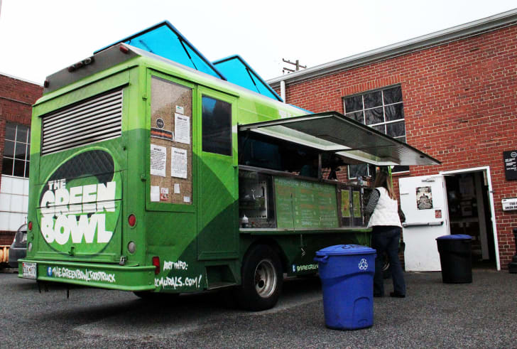 The Green bowl food truck