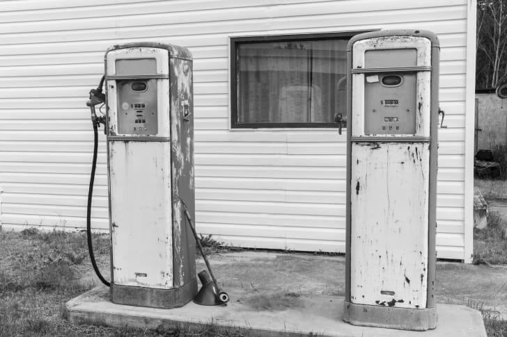 Retro Gas Tanks.