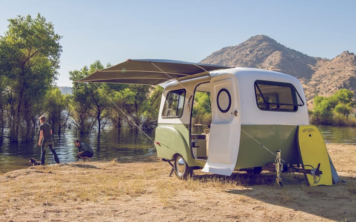Exterior view of Happier Camper.