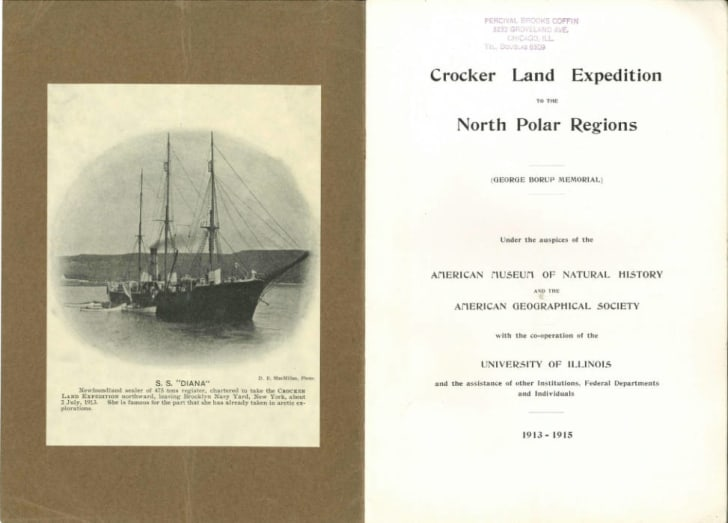 A report from the Crocker Land expedition.