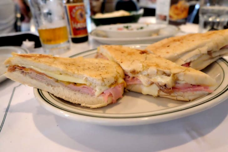 Cubano Sandwich at Versailles Restaurant