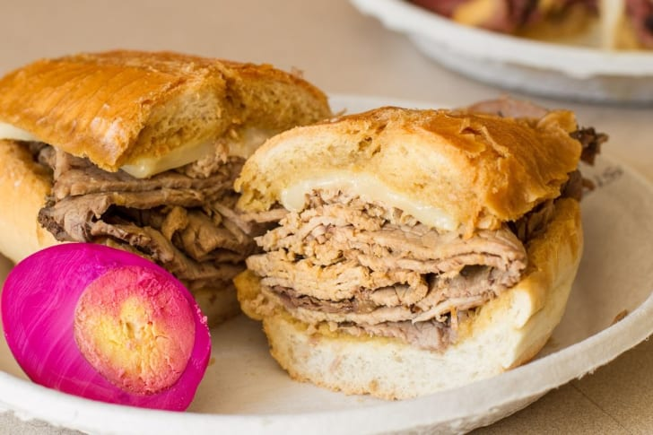 Phillippe the Original French Dip Sandwich
