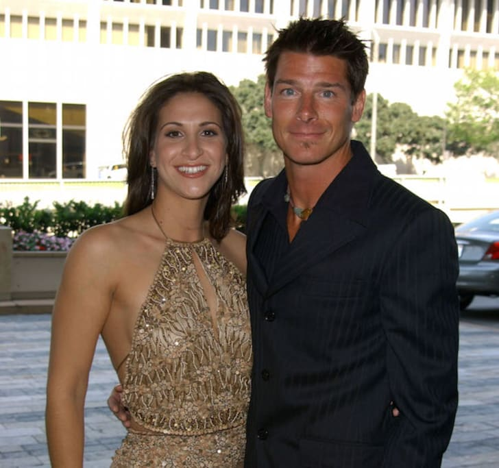 Amy Wynn Pastor and Ty Pennington arrive at the 29th annual Daytime Emmy Awards Creative Arts Presentation May 11, 2002