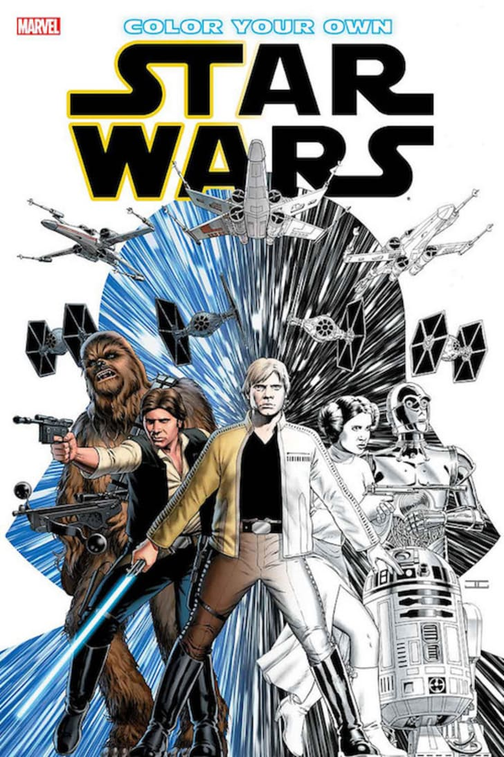 A 'Star Wars' coloring book