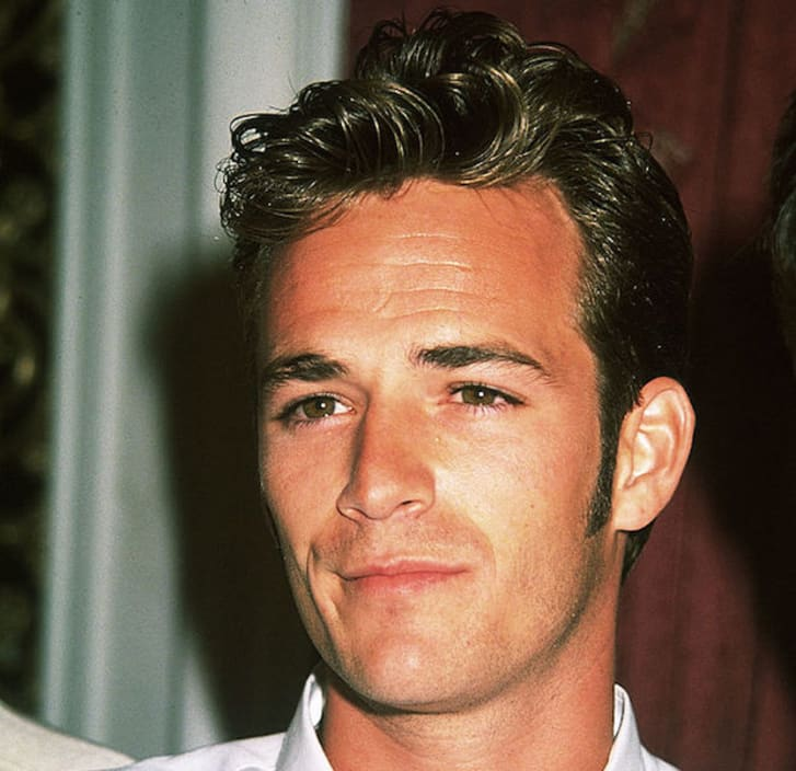 Actor Luke Perry attends an event
