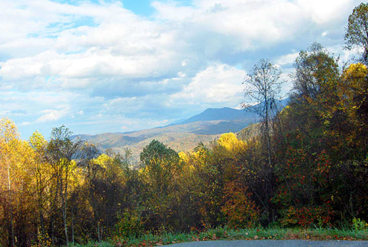 Great Smoky Mountains National Park fall foliage