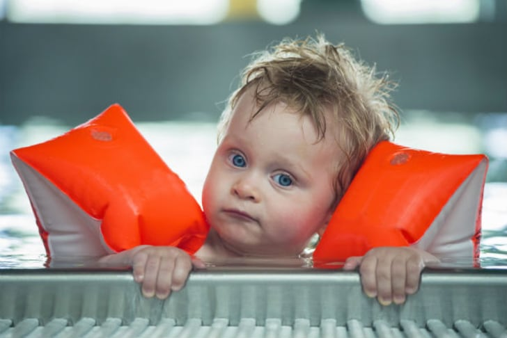 """9d92903c8f4a7 Lifeguards hate them. """"They may pop, which would probably be unusual, or  they may leak slowly,"""" Darrell says. """"But that's not the real danger."""