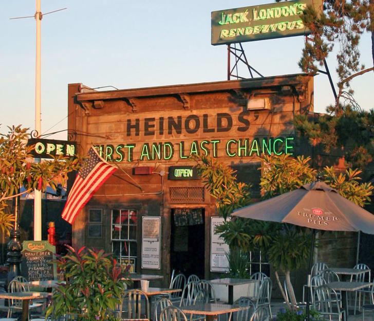 Heinold's First and Last Chance saloon in Oakland