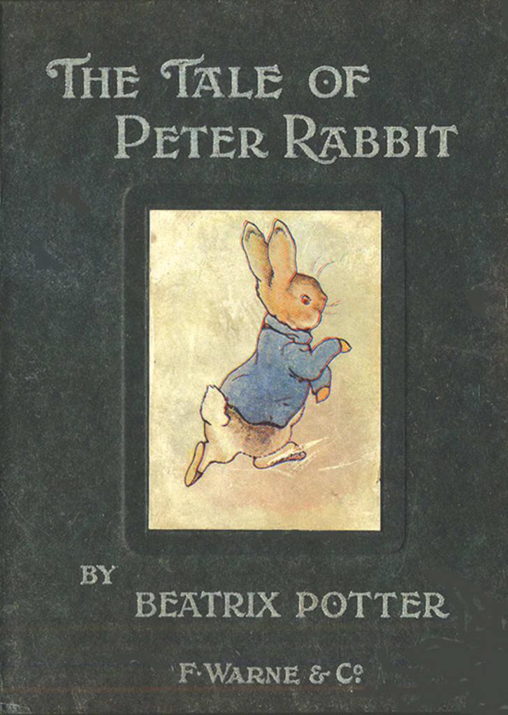 The first edition of The Tale of Peter Rabbit.