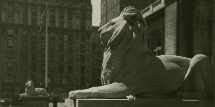 Birthing the New York Public Library Lions | Mental Floss