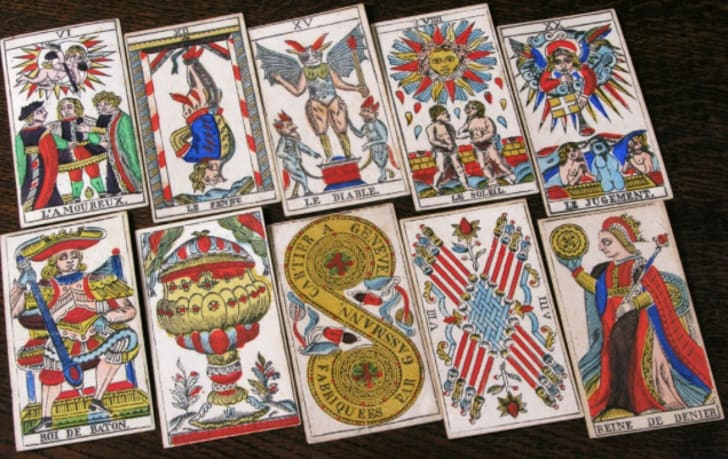picture about Deck of Many Things Printable called Tarot Mythology: The Unexpected Origins of the Worlds Greatest