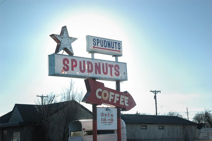 A Spudnuts in Amarillo, Texas