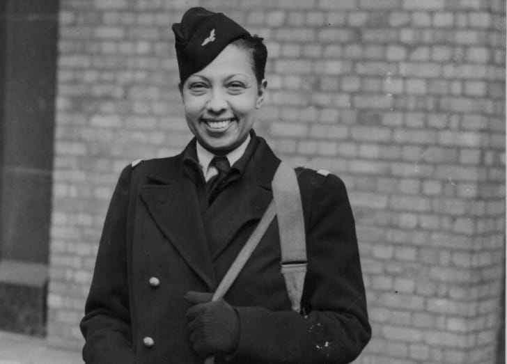 A photo of Josephine Baker