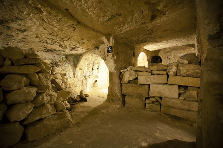 The St. Paul's catacombs in Malta