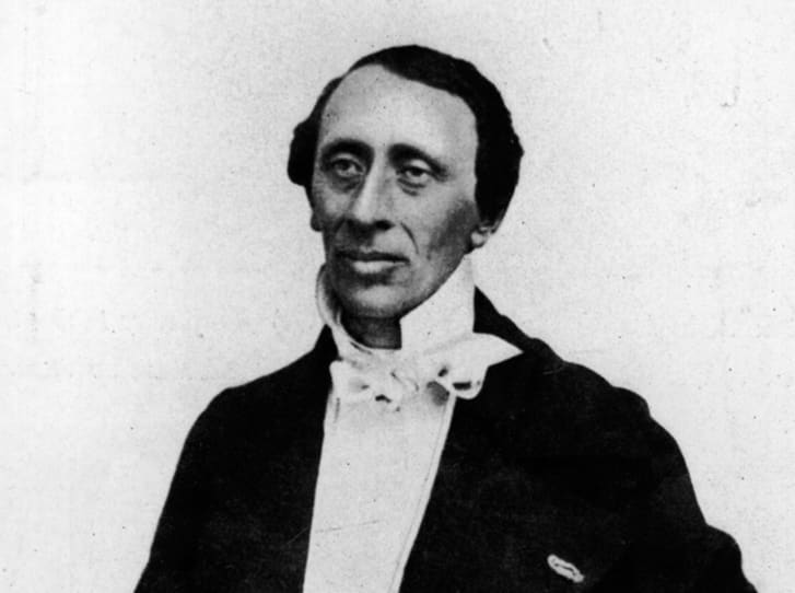 Author Hans Christian Andersen