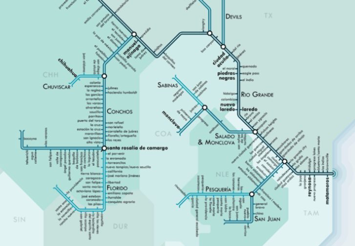 Rivers Subway Map.The Stream Systems Of The U S Visualized As Subway Maps Mental Floss