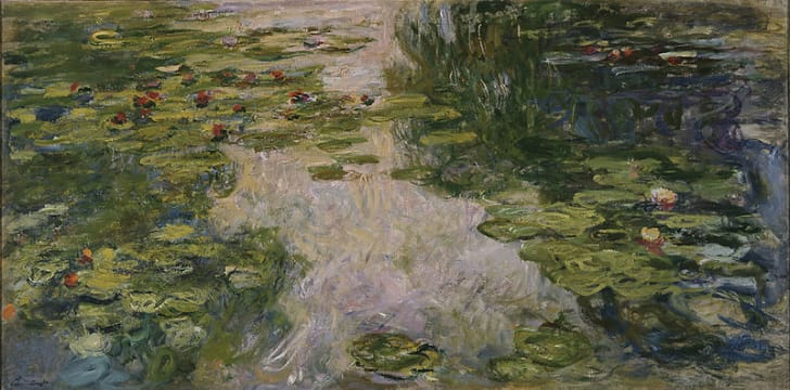 fa4b70dcd 15 Things You Might Not Know About Monet's 'Water Lilies' | Mental Floss