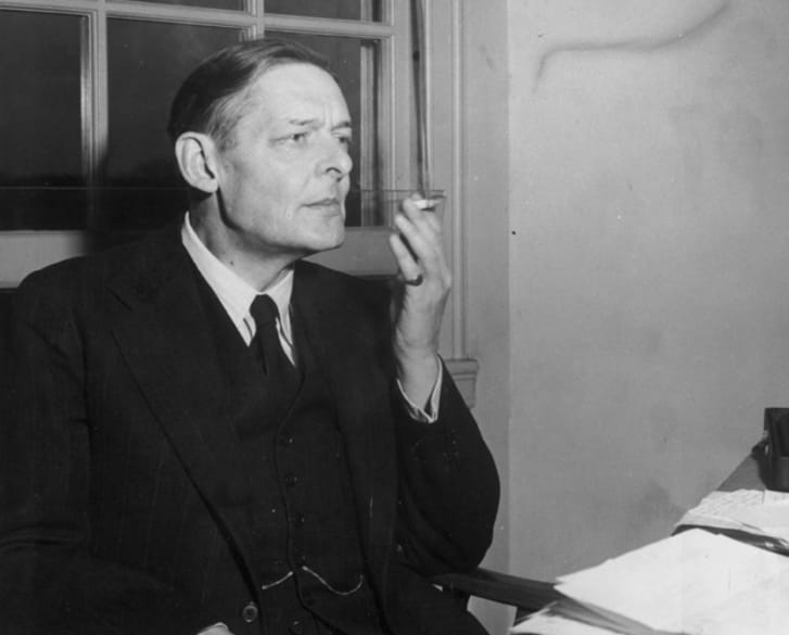 A photo of T.S. Eliot