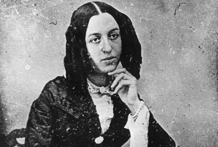 A photo of George Sand, a.k.a. Amantine-Lucile-Aurore Dupin